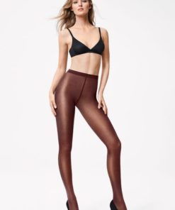Wolford 18379 chateau Satin Opaque, BlondeHuset