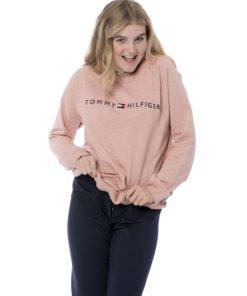 Tommy Hilfiger sweater rosa UW0UW01677648, BlondeHuset