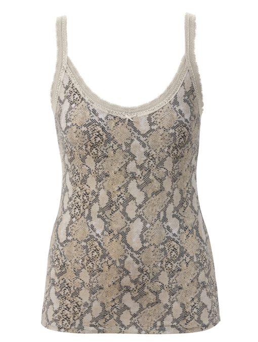 Trofé Season snakeprint chemise 80242, BlondeHuset
