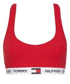Tommy Hilfiger top rød UW0UW02225XCN, BlondeHuset