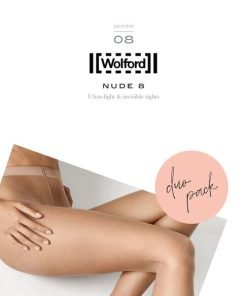 Wolford Nude 8 Duo Pack Fairly Light 10277, BlondeHuset