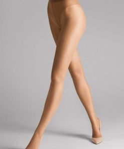 Wolford Luxe 9 Tights honey 17028, BlondeHuset