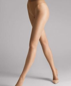 Wolford Luxe 9 Tights sand 17028, BlondeHuset