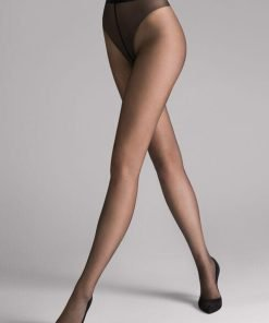 Wolford Luxe 9 Tights sort 17028, BlondeHuset