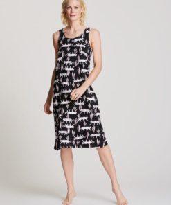Nanso natkjole med bred strop NA-01-25888, BlondeHuset