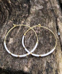 Thorup Smykker loops øreringe, BlondeHuset