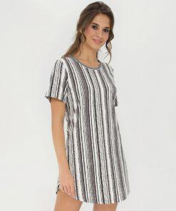 Lady Avenue natkjole med korte ærmer 53-1035 BlondeHuset