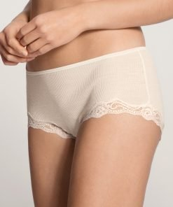 Calida pants uld silke med blonder 24990 BlondeHuset