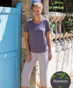 Lady Avenue Trouville Pyjamas sæt 67-407 BlondeHuset