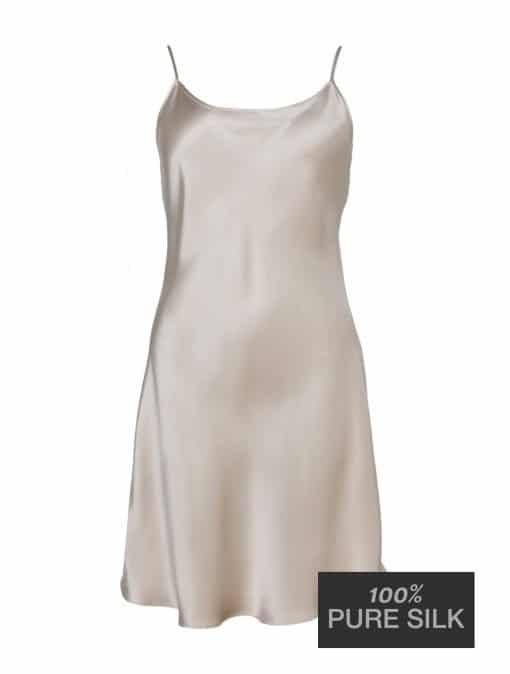 Lady Avenue silkenatkjole med stropper 25-20100 BlondeHuset