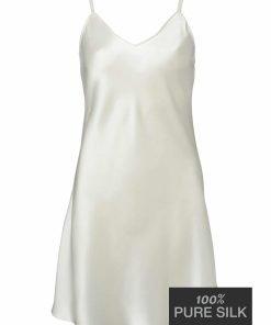 Lady Avenue silkenatkjole med stropper 25-20101 BlondeHuset