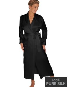 Lady Avenue silkekimono lang 25-80445 BlondeHuset