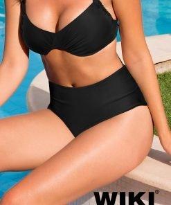 Wiki basis højtaljet tai bikini underdel 651-4115 BlondeHuset