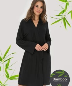 Lady Avenue kimono bamboo bambus 51-50420 BlondeHuset