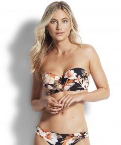 Seafolly Bora Bora bandeau bikini top 30574-852 BlondeHuset